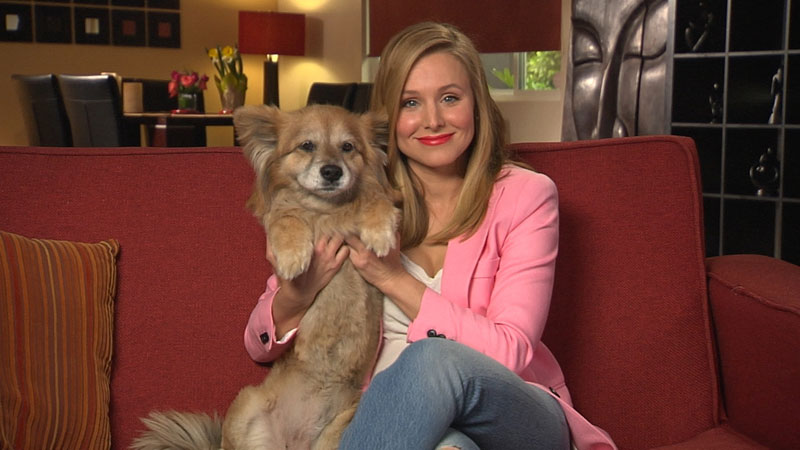 Kristen Bell on Her Pets: 'They're Just Kids I Didn't Birth'