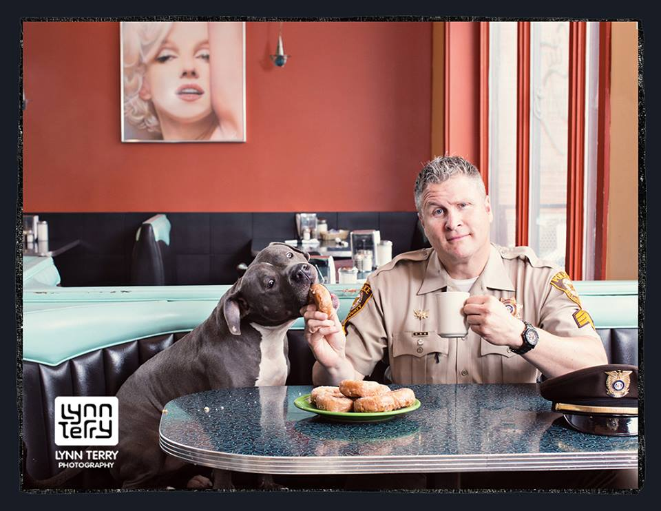 Paw & Order: Shelter Pets Featured In Cops & Kittens And Pits & Police Calendars