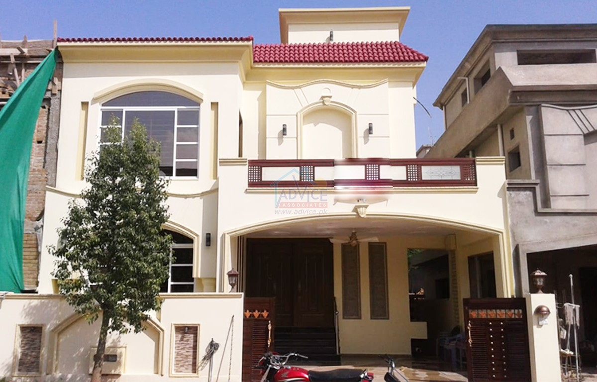 Brand New House With Basment Available For Sale In Bahria Enclave Islamabad