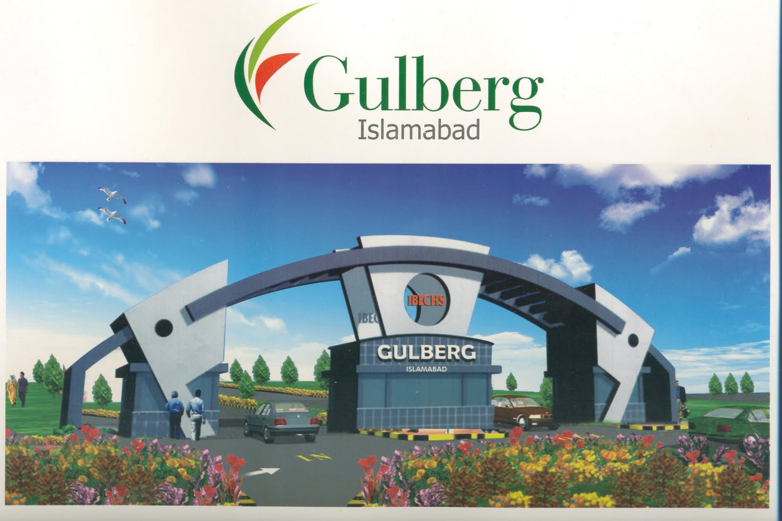 Gulberg Islamabad Best Location Corner Plot For Sale On reasonable Price