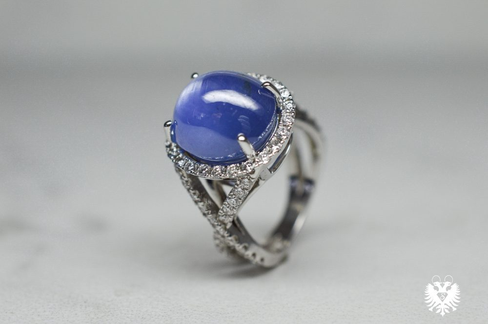 Oval Star Sapphire Ring Shelton Jewelers A Brilliant Choice