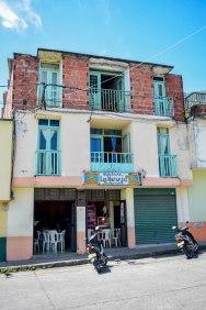 Where we ate lunch in Riosucio