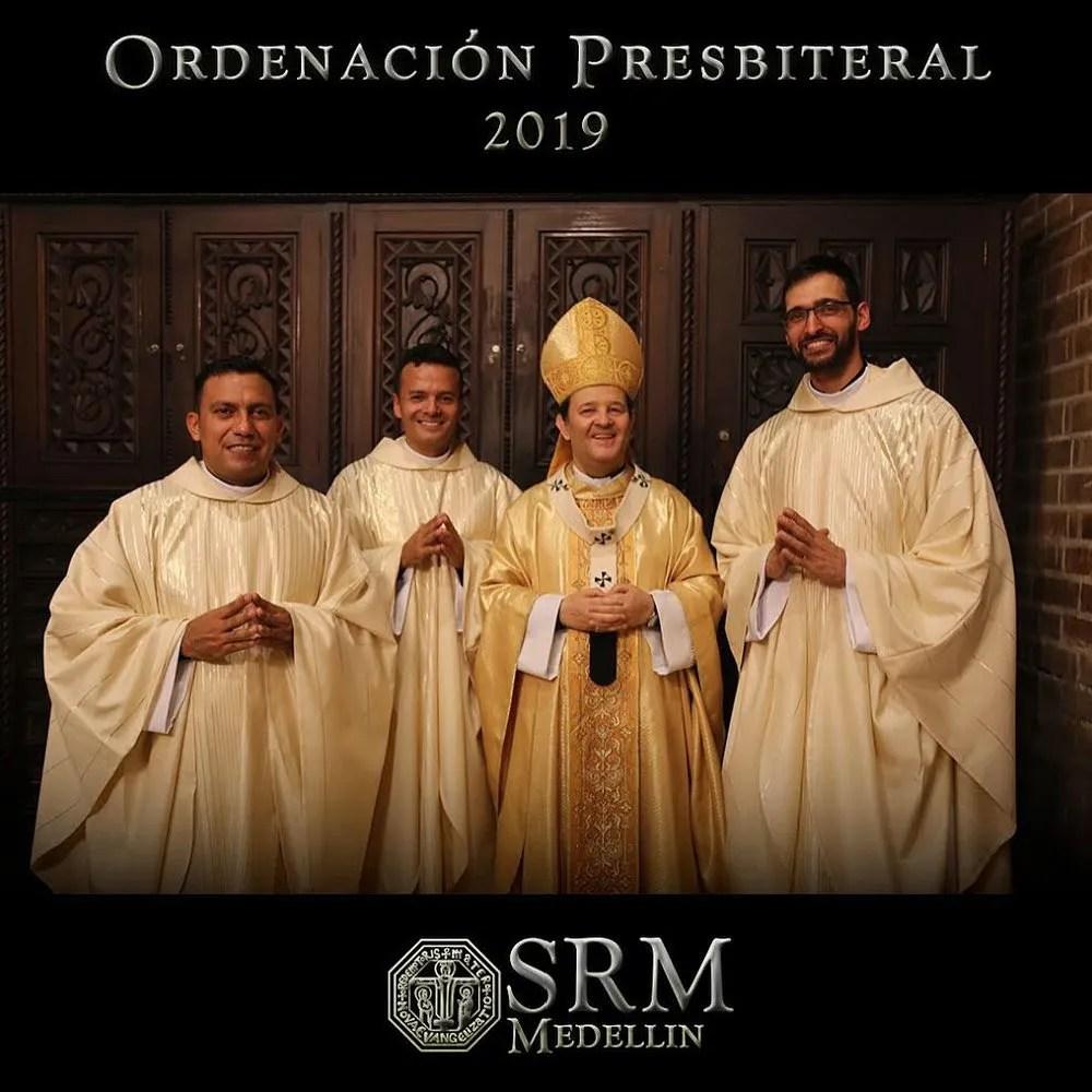 Nuovi Presbiteri dal Seminario Redemptoris Mater di Medellin
