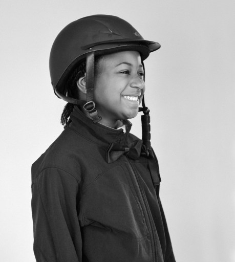 Clelbratign Black History Month with Georgia as Cheryl White. She Made History as a winning jockey.
