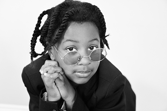 Georgia as Whoopi Goldberg