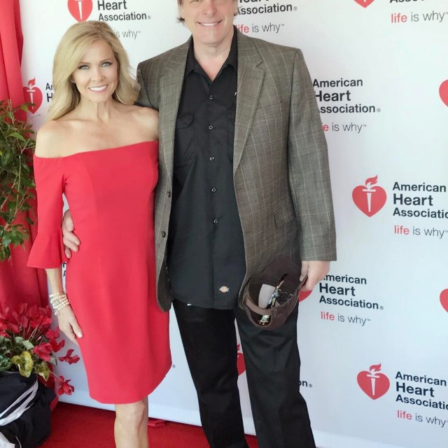 At the American Heart Associations luncheon at Baylor University! Hubbyhellip