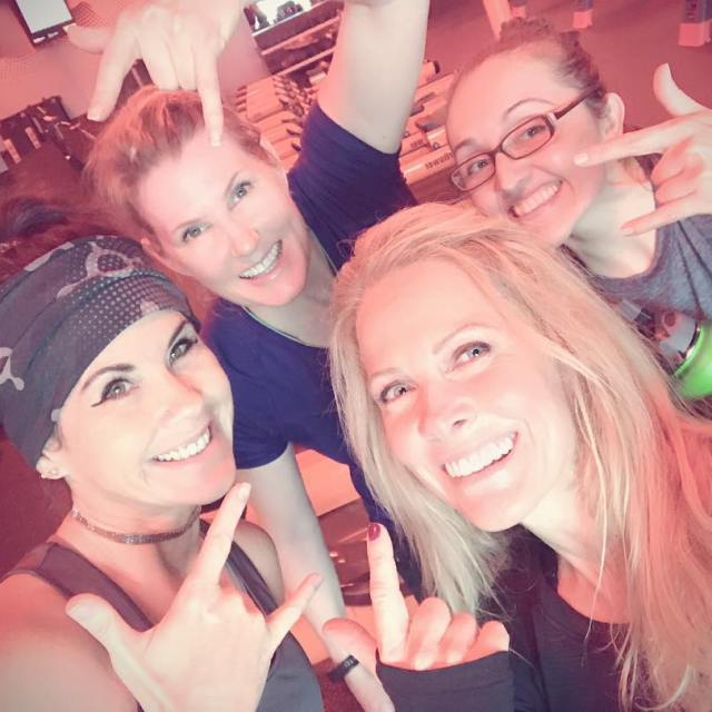 Post workout at Orange Theory! orangetheory crew orangetheorywaco Fitness exercisehellip