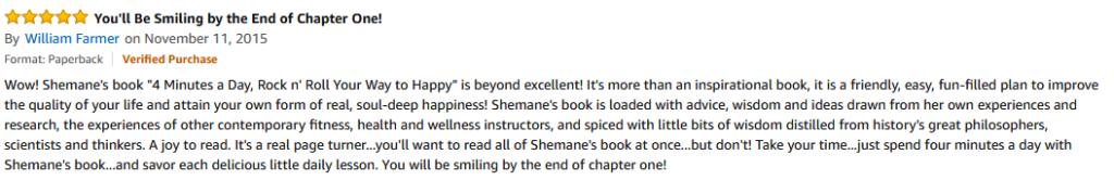 Amazon Review - William Farmer