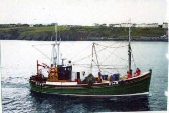 Ribhinn Donn II dual purpose ring net fishing boat