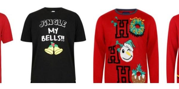 Christmas T-Shirts for Plus Size Men