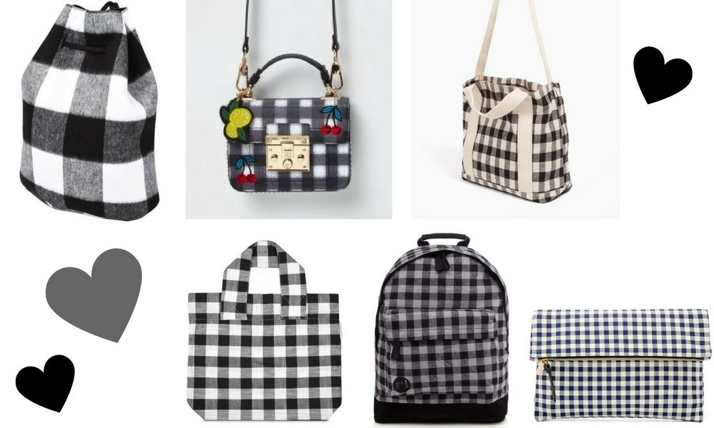SS17 Bags Gingham