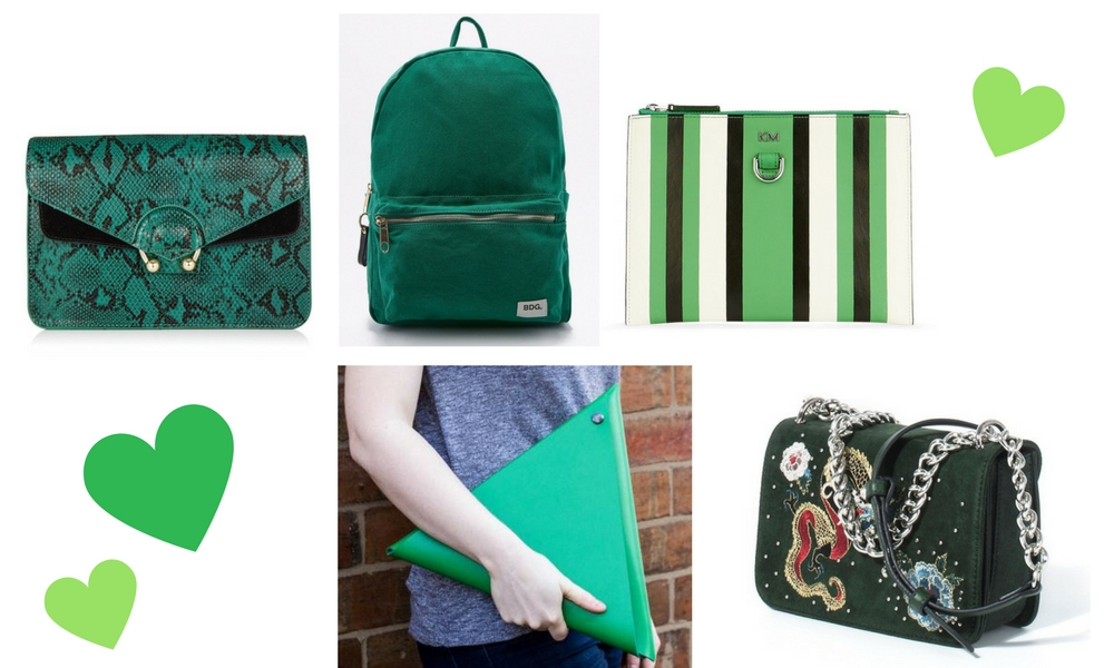 SS17 Bags Green