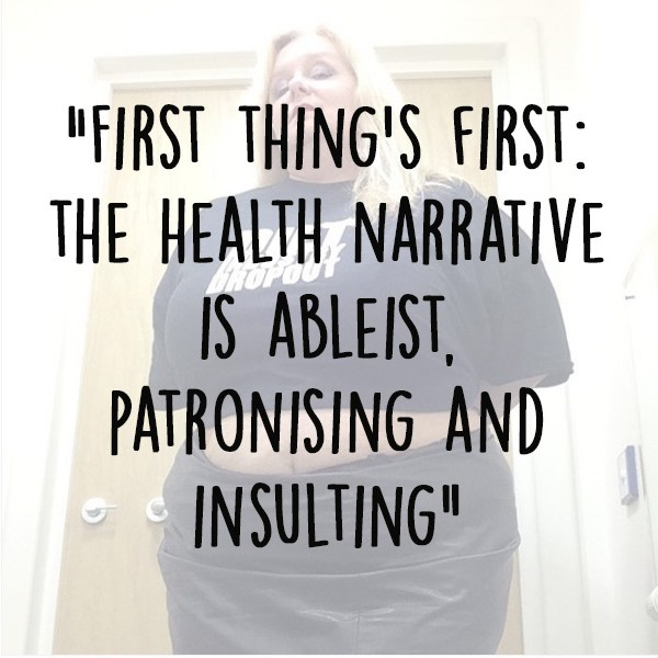 the health narrative