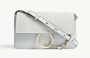 Chloe faye small leather bag