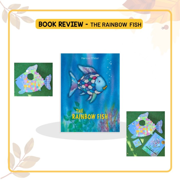 Book Review of The Rainbow Fish by Marcus Pfister