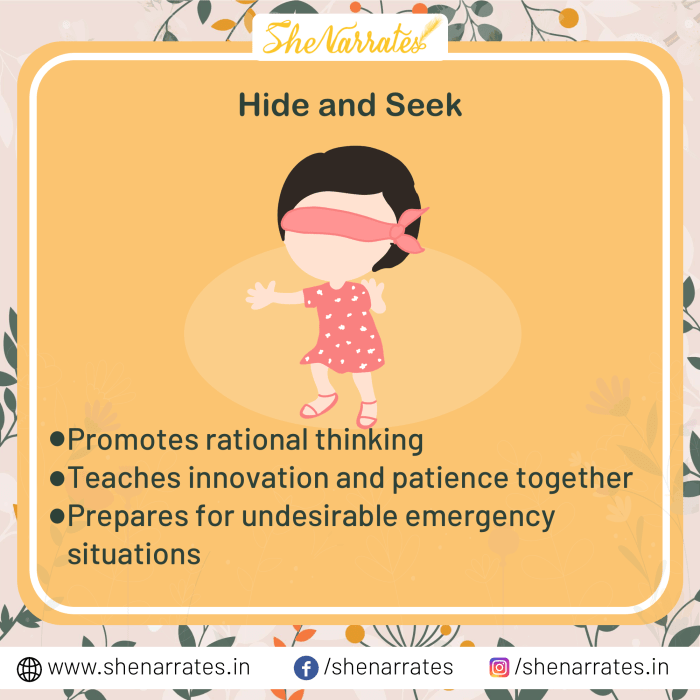 Hide and Seek: Classic Childhood Games That Teach Important Life Skills