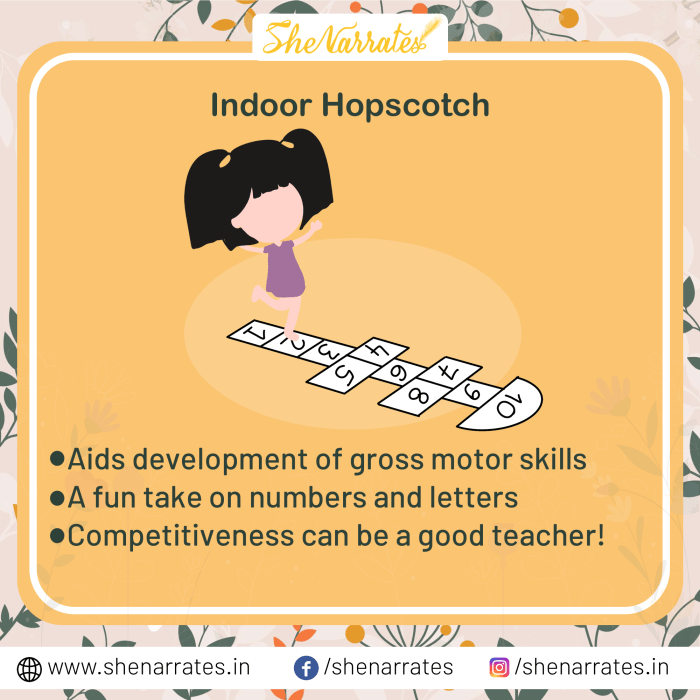 Indoor Hopscotch: Classic Childhood Games That Teach Important Life Skills
