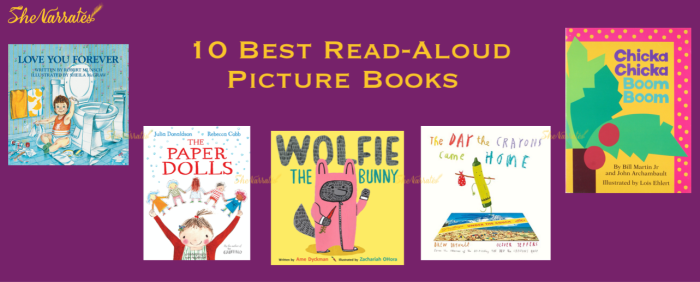 Reading aloud to children helps them build a positive relationship with books and reading. Keeping this in mind we have come up with our recommendation of the ten best read-aloud picture books that young kids would easily fall in love with.
