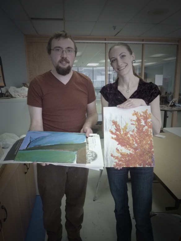 Bruce becomes engaged with the science of colour and Jenn, GH buddy joins us on her afternoon off.