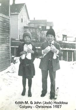 Edith M. and John Jack Haddow