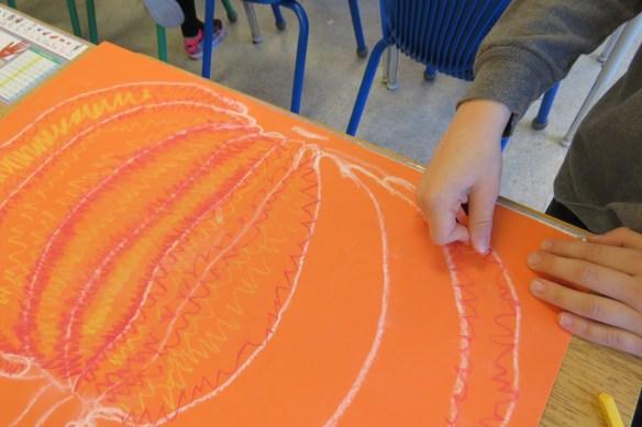 Kath's Canon, October 14, 2015 Grade three pumpkins 001