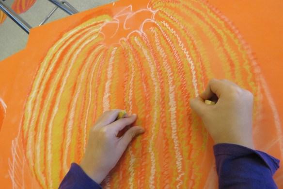 Kath's Canon, October 14, 2015 Grade three pumpkins 017