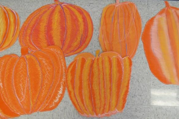 Kath's Canon, October 14, 2015 Grade three pumpkins 027