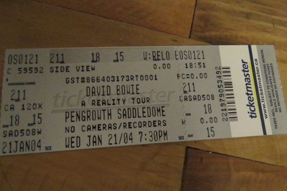 Kath's Canon, January 14, 2016 Bowie and Memorabilia 021