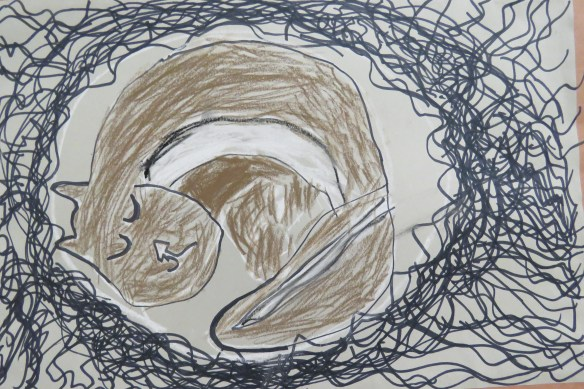 Kath's Canon, January 6, 2016 Salmon gift, Franks, Hibernate 3 082