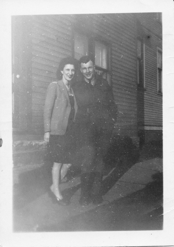 Gramma Tilly Thompson and Uncle Earl Gallant