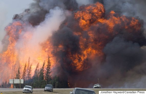 Alberta Wildfire 20160508