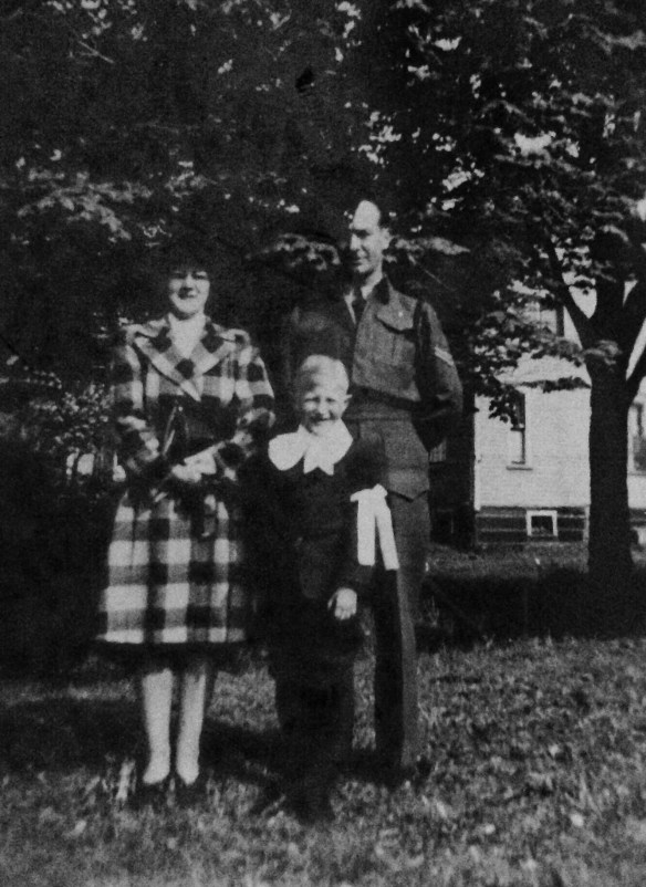 Great Uncle Calice, Great Aunt Kay and son Lawrence Gallant