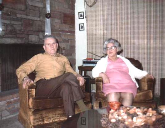 Gramma and Grampa Moors 1971