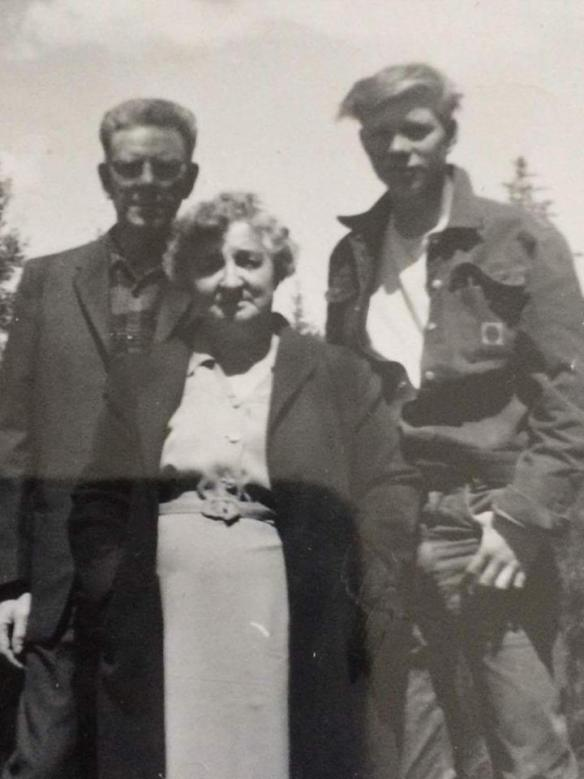 John Moors, Florence Moors and Uncle Bob