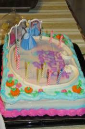 Angela birthday cake