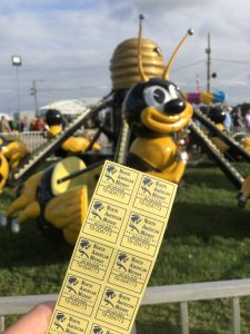 Buying Tickets at the Fair