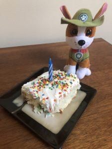 PAW Patrol Party Toddler Frugal Fun Tracker Birthday Cake