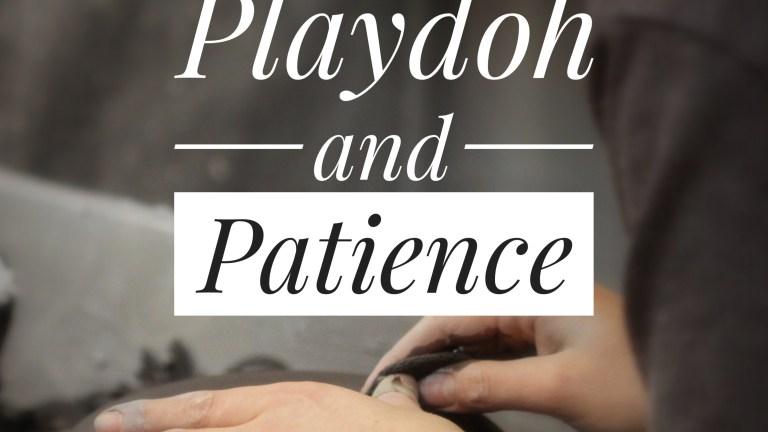 Playdoh & Patience