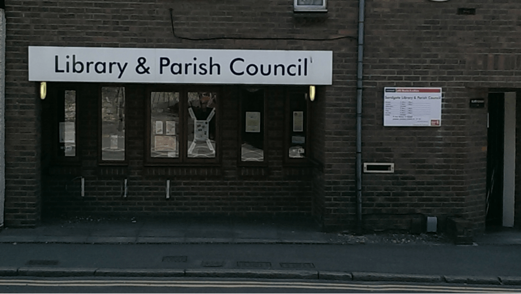 Sandgate Parish Council: Caught between a rock and hard place.
