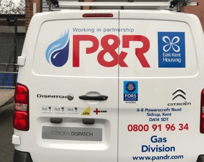 Issues with East Kent Housing's P & R boiler contract?