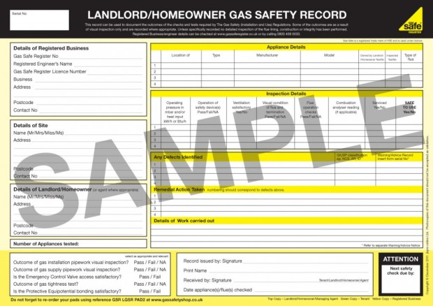 gas-safety-certificate