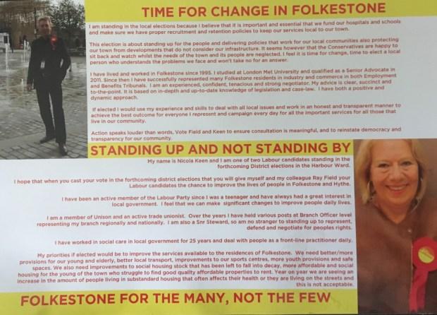 Labour Leaflet 2