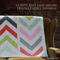 Tutorial - Lickety Split, A Modern Chevron Quilt