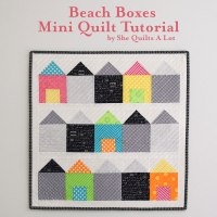 Beach Boxes - Marti Michell Mini Quilt Blog Hop
