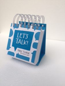 Table Talk cards