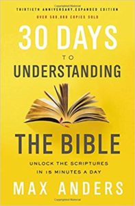 Book Cover 30 Days to Understanding the Bible