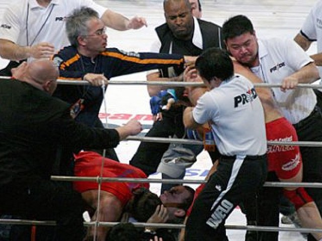 Image result for shogun coleman brawl