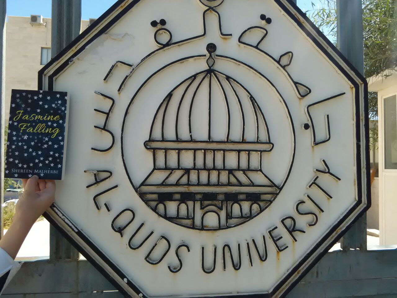 Jasmine Falling arrives at Universities in Palestine