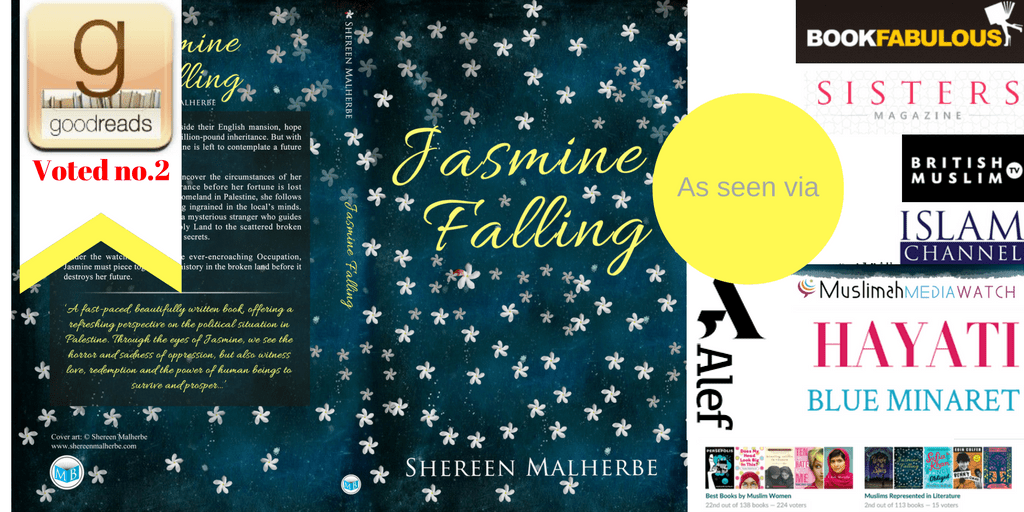 Win a free paperback copy of Jasmine Falling via Goodreads