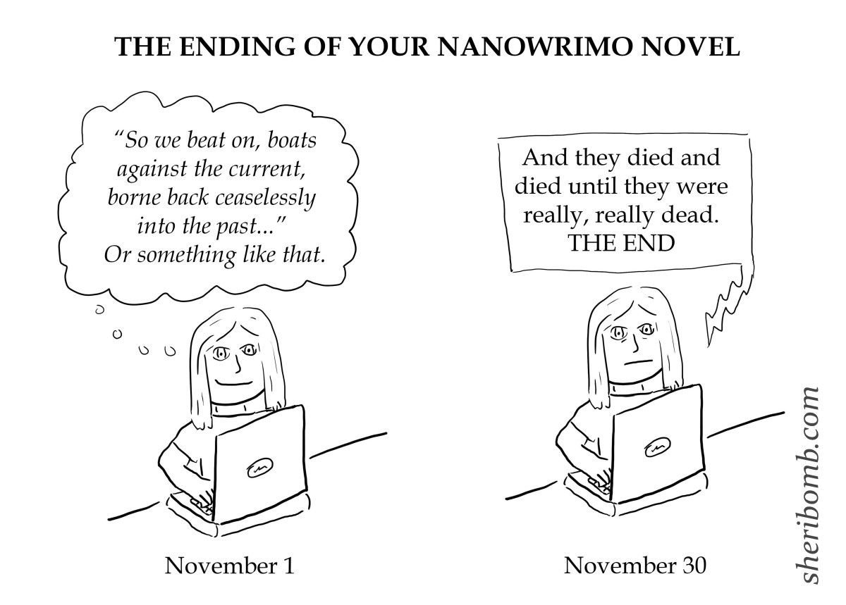 The Ending of Your NaNoWriMo Novel
